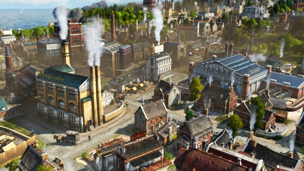 Industrielle Revolution bei Anno 1800