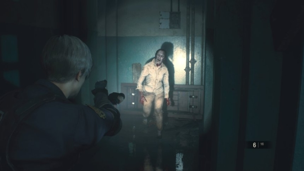 Zombiejagd bei Resident Evil 2
