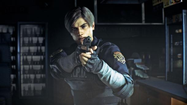 Claire und Leon bei Resident Evil 2