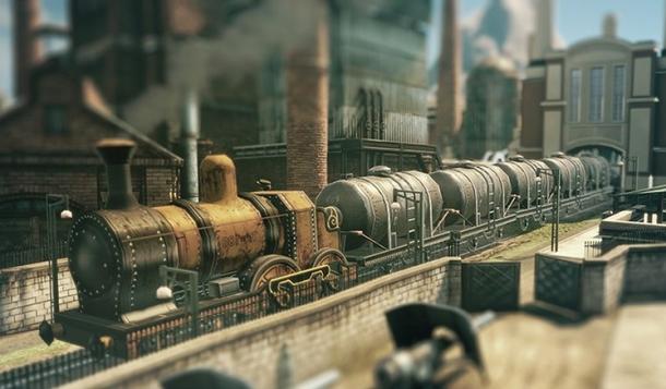 Rolle der Eisenbahn bei Anno 1800