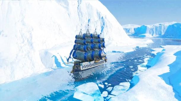 Suche nach der Nord-West-Passage