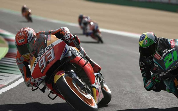 Racing Games: MotoGP 20