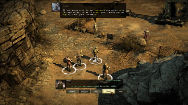 Wasteland 2 Previews
